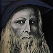 Leonardo Da Vince Art Print