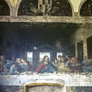 Leonardo Da Vinci's Last Supper Art Print