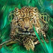 Leopard - Spirit Of Empowerment Art Print