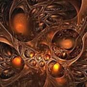 Leptonite Caverns Art Print