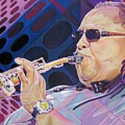 Leroi Moore-op Art Series Art Print