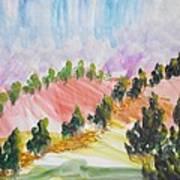 Les Chypres Art Print