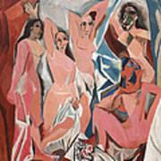Les Demoiselles D Avignon Art Print