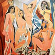 Les Demoiselles D'avignon Picasso Art Print