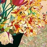 Les Fleur Art Print