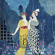 Les Modes Print by Georges Barbier
