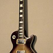 Les Paul Electric Guitar Art Print