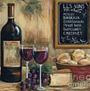 Les Vins Art Print