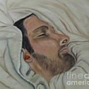 Let Me Sleep Art Print