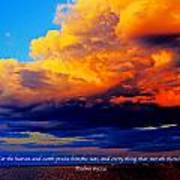 Let The Heavens Art Print