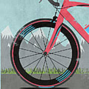 L'etape Du Tour Bike Art Print