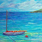 Let's Go Sailing Art Print