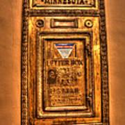 Letter Box Art Print