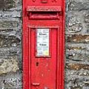 Victorian Red Letter Box Art Print