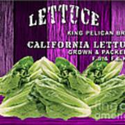 Lettuce Farm Art Print