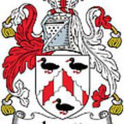 Levett Coat Of Arms II Irish Art Print