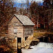 Levi Jackson Park Water Mill Art Print by Stephanie Frey