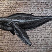 Leviathan Art Print by Mark Zelmer