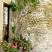 Levroux France Entrance Art Print