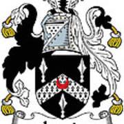 Lewis Coat Of Arms Irish Art Print