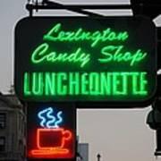 Lexington Candy Shop Art Print