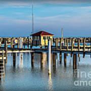 Lexington Harbor With No Boats Art Print