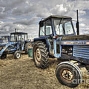 Leyland Tractors  Art Print