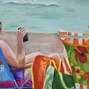 Ladies' Beach Retreat Art Print