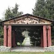 Lheit-li Nation Burial Grounds Entrance Art Print