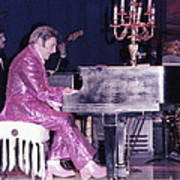 Liberace Piano Candelabra 1970 - We Will Be Seeing You Lee Liberace Art Print
