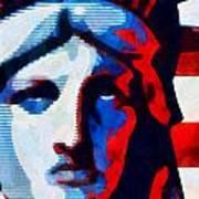 Liberty 3 Art Print