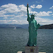 Liberty On Lake Pend Oreille  Art Print
