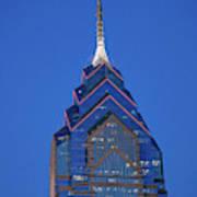 Liberty Place Skyscrapper At Dusk Art Print