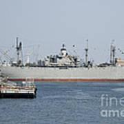 Liberty Ship Ss John W. Brown Art Print