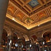 Library Of Congress - Washington Dc - 011321 Art Print by DC Photographer