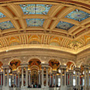 Library Of Congress - Washington Dc - 011322 Print by DC Photographer