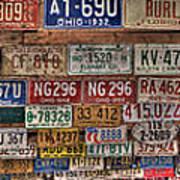 License To Drive Art Print