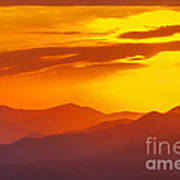 Lickstone Gap Sunset 5 Art Print