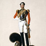 Lieutenant Thomas Myddleton Biddulph Art Print by Alexandre-Jean Dubois Drahonet