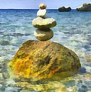 Life In Balance Art Print