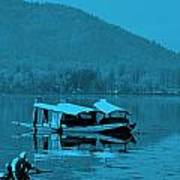 Life In Kashmir  Art Print