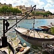 Life On The Seine Art Print