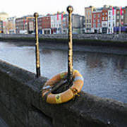 Life Saver -  Swiffey River - Dublin Ireland Art Print