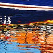 Lifeboat Reflections Art Print