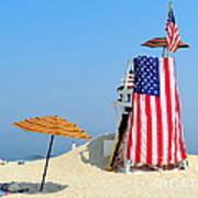 Lifeguard 9-11 Tribute Art Print