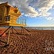 Lifeguard Off Duty Maui Hawaii Art Print