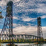 Lift Bridge 3d21789 Art Print