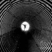 Light At The End Of The Tunnel? Art Print