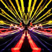 Light Fantastic 15 Art Print