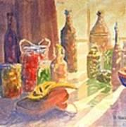 Light From The Window Art Print
